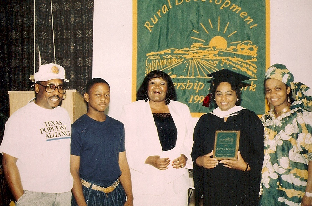 Shirley Sherrod and Family